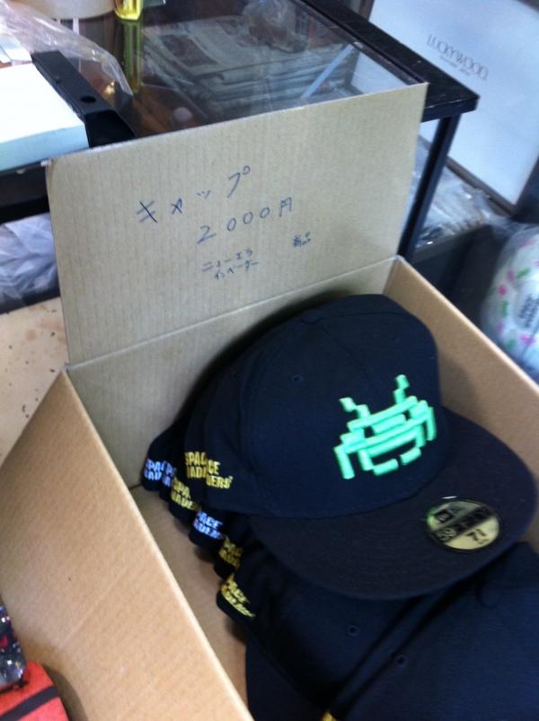 【阿佐ヶ谷ファッション情報】インベーダーに侵略された店