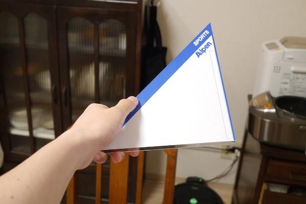 文房具マニア垂涎!アルペン型の三角定規を作った