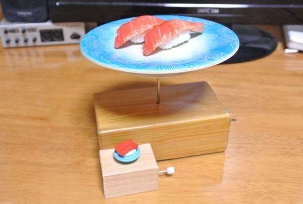 【商品化希望】卓上回転寿司マシンを小型化しました。