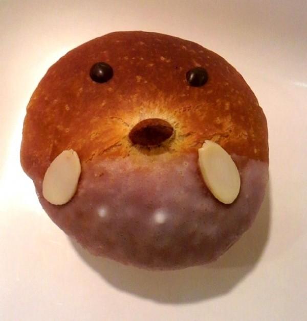 吉祥寺アンテンドゥ「ぴよちゃんクリーム」ブリオッシュ生地のクリームパン