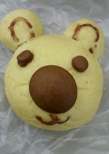 木村屋「白くまパン」160円