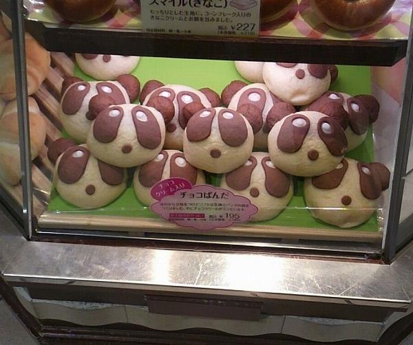 木村屋、チョコぱんだ