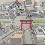 【調査】巨大建造物付近の地図が面白い!