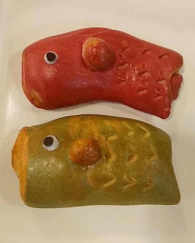 パンリゾッタのこいのぼりパン1