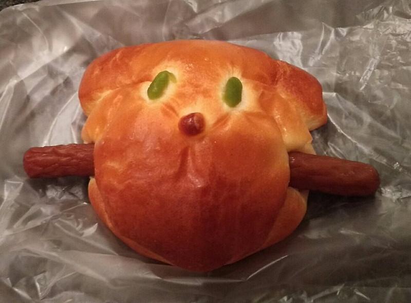 ドンクのワンワンドッグパン1