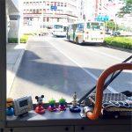 バス車内のインテリアは最高の癒し